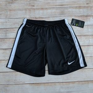 Nike Dri-Fit Athletic Running Gym Shorts Black S